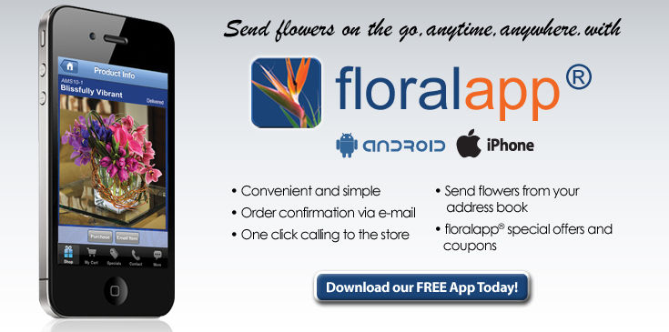 Download floralapp - Available for iPhone and Android.
